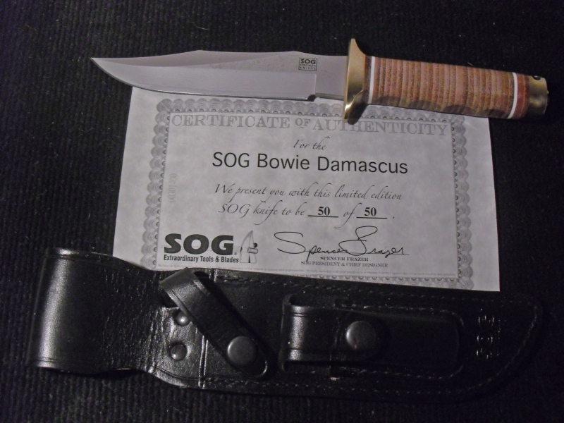 sog-damascus-bowie-s1d-with-certificate-of-authenticity-leather-sheath_k-a-larson